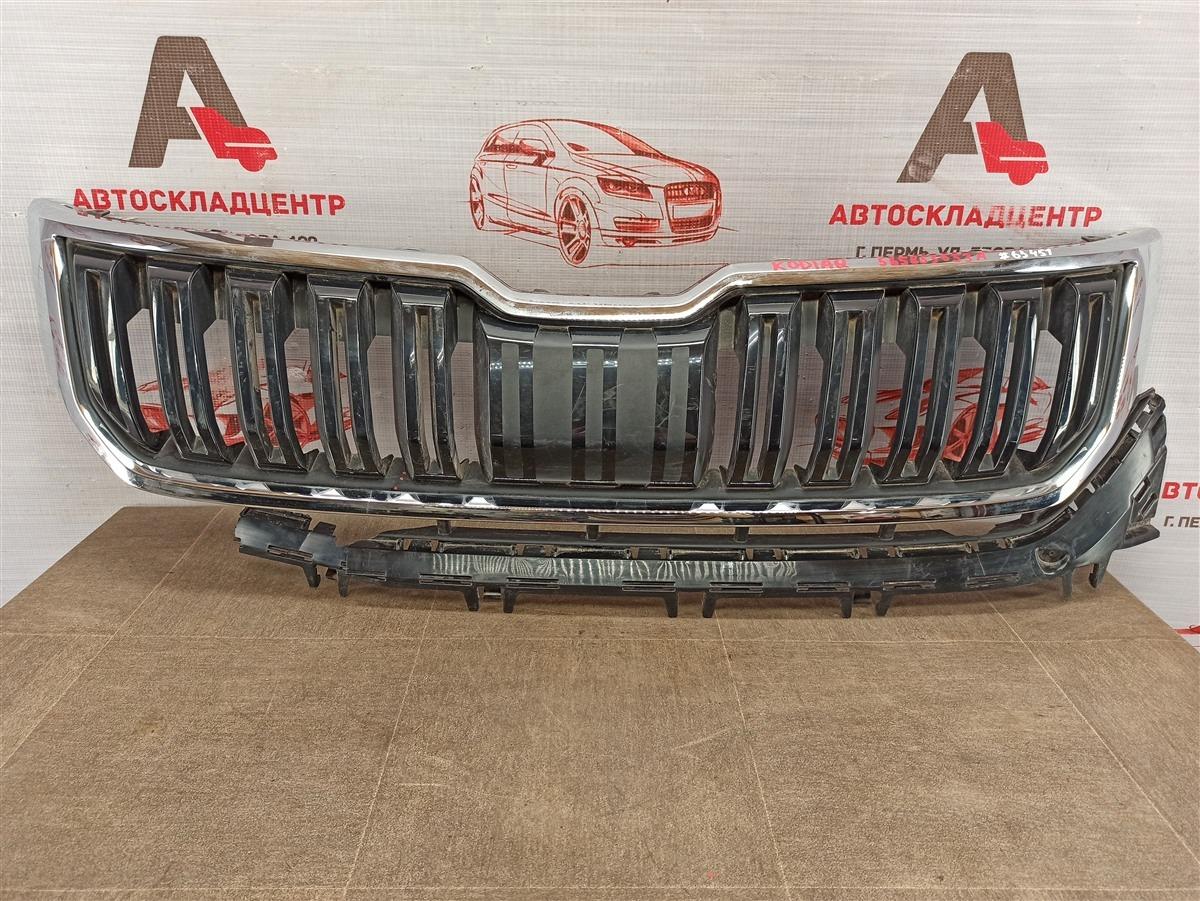 Решетка радиатора Skoda Kodiaq (2016-Н.в.)