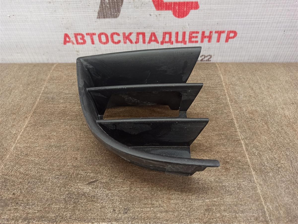 Решетка бампера переднего Skoda Octavia (2004-2013) 2008 правая