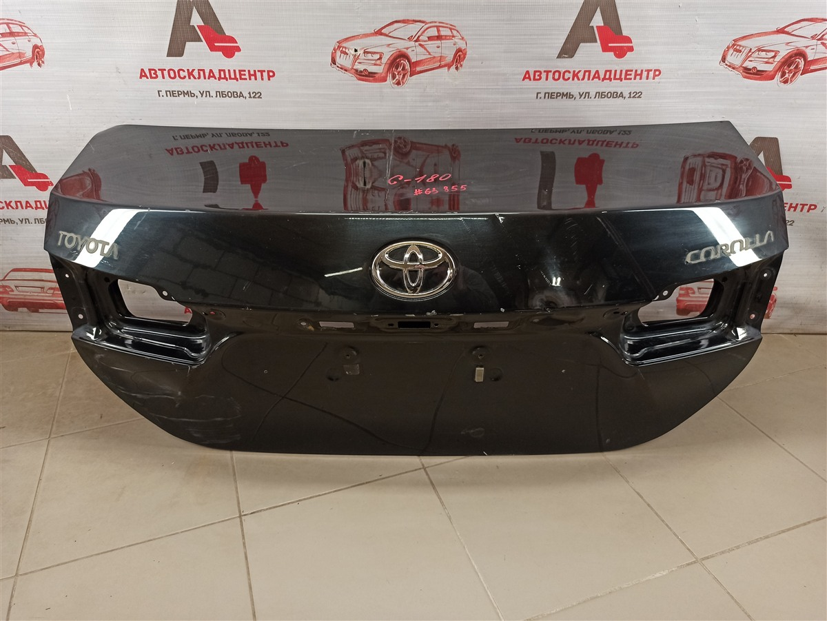 Крышка багажника Toyota Corolla (E18_) 2012-2019