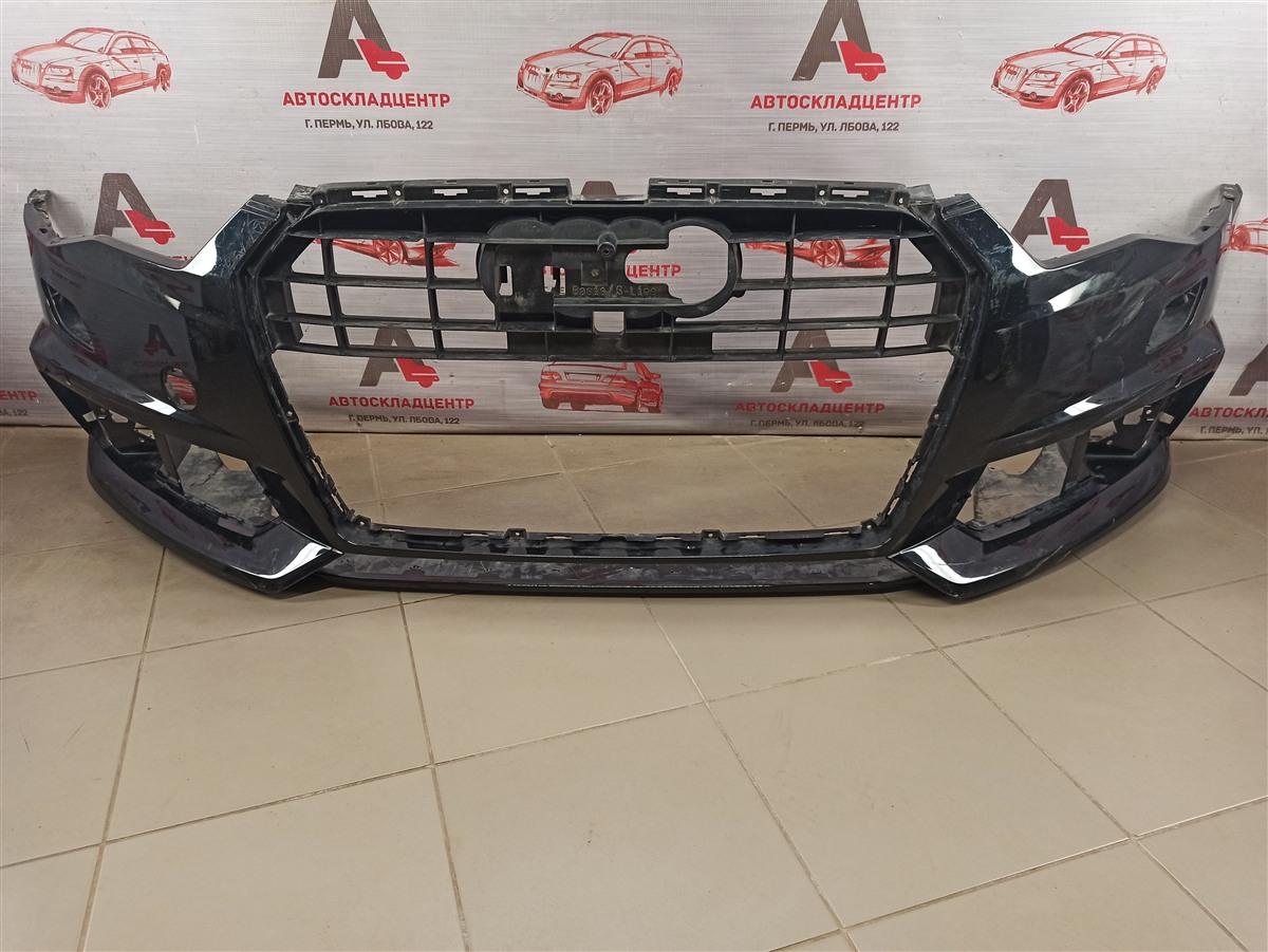 Бампер передний Audi A6 (C7) 2010-2018 2014