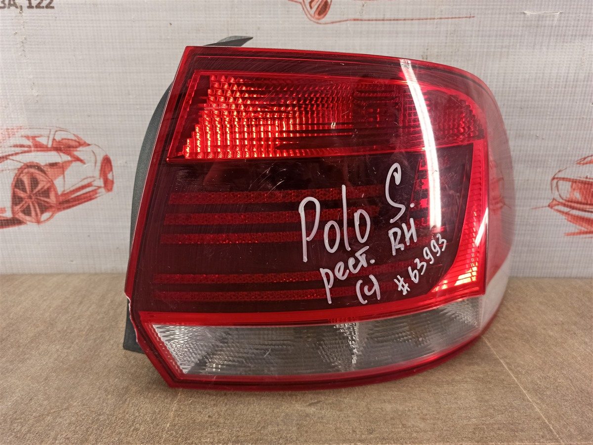 Фонарь правый Volkswagen Polo (Mk5) Седан 2010-2020 2015