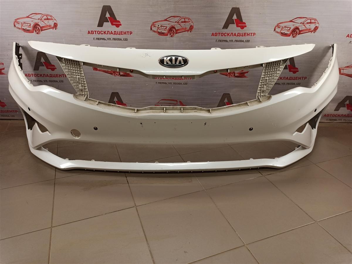 Бампер передний Kia Optima (2015-2020) 2018