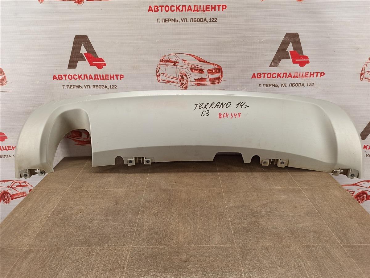 Спойлер (накладка) бампера заднего Nissan Terrano (2014-Н.в.)