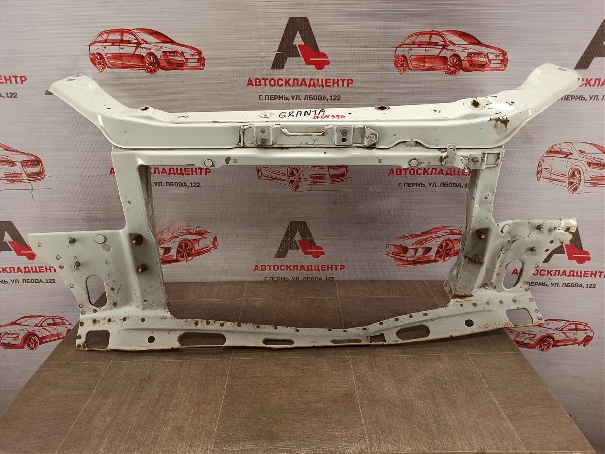 Панель передка (телевизор) - рамка радиатора Lada Granta