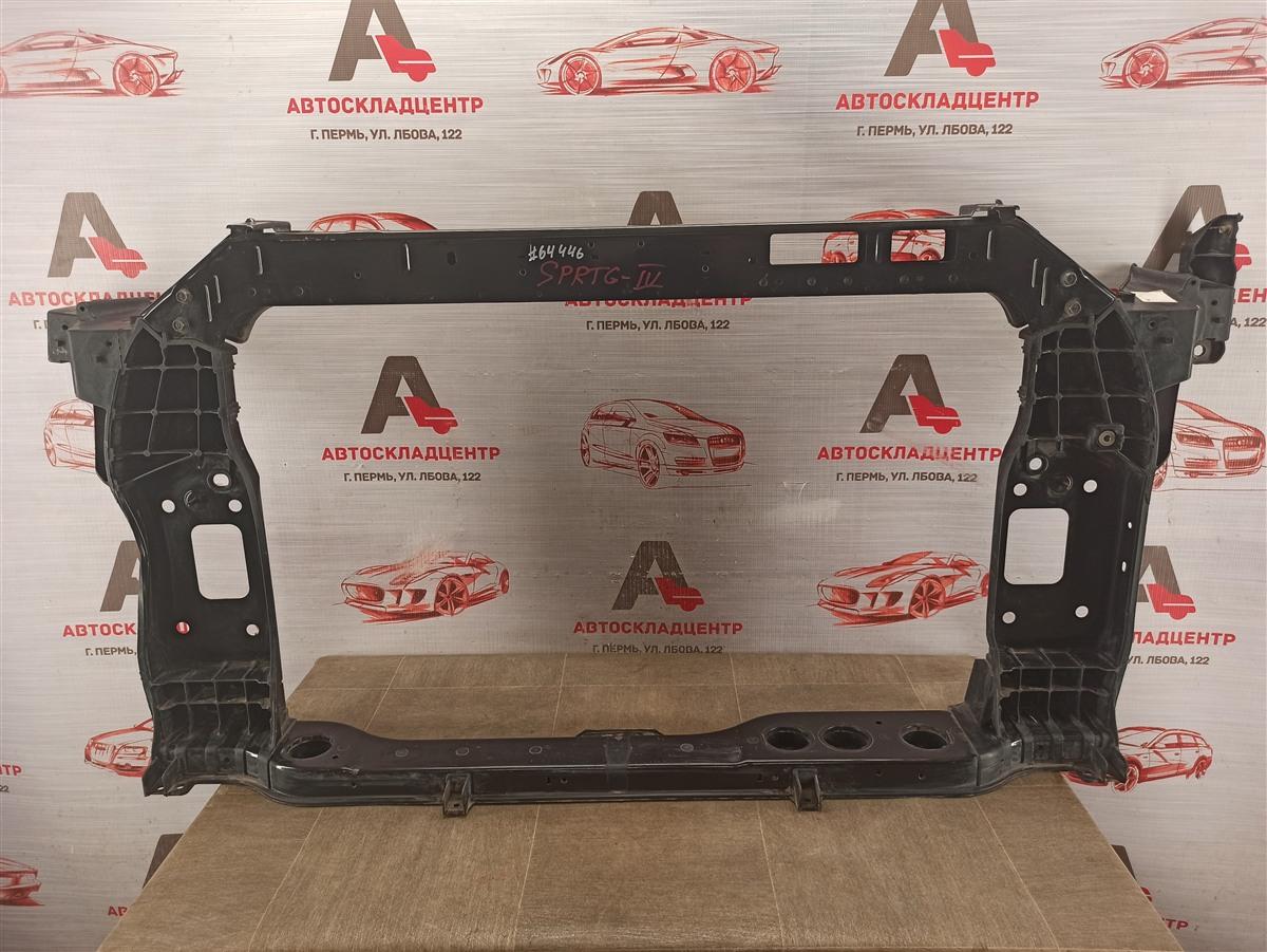 Панель передка (телевизор) - рамка радиатора Kia Sportage (2016-Н.в.)