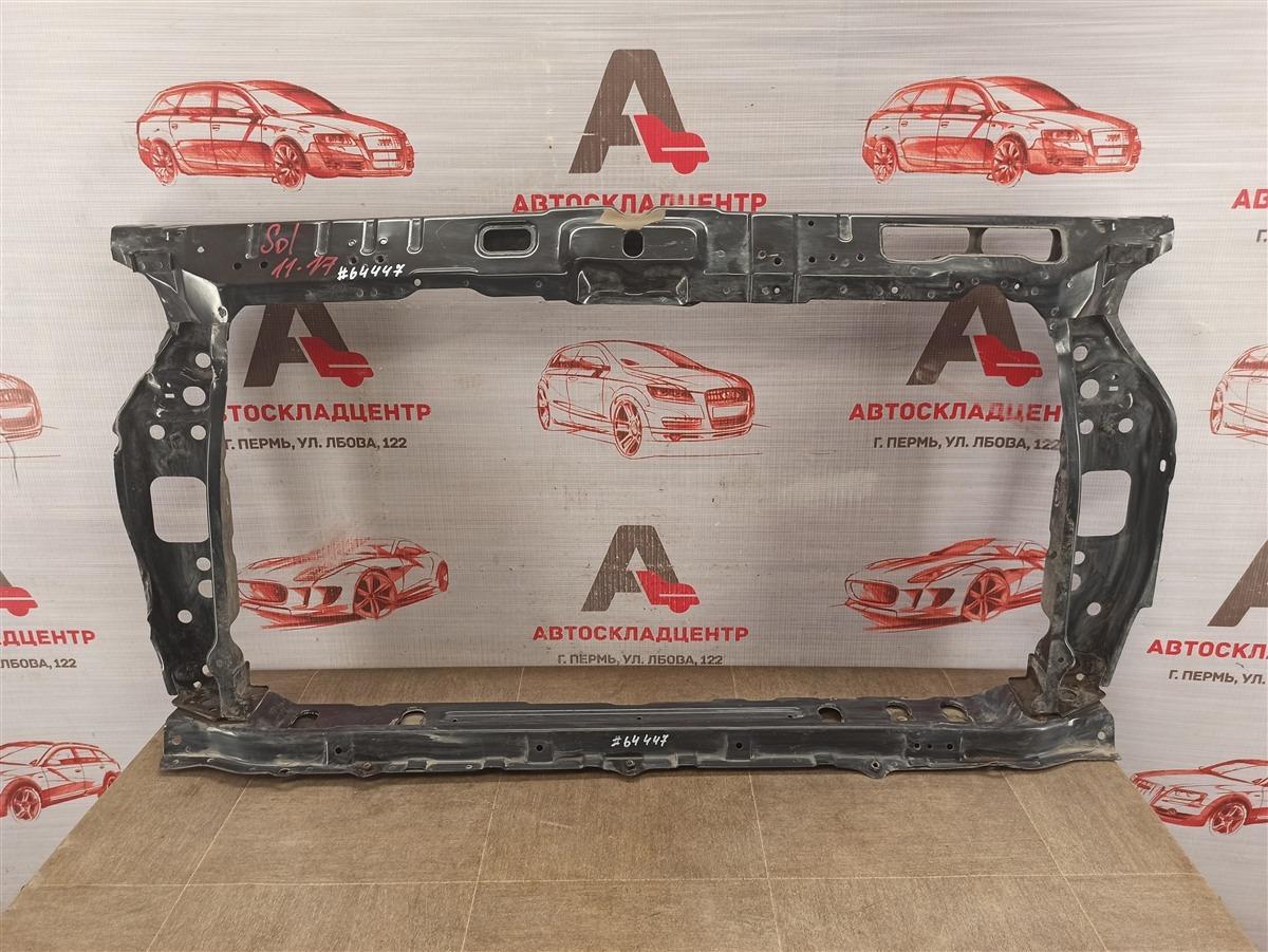 Панель передка (телевизор) - рамка радиатора Hyundai Solaris (2010-2017)