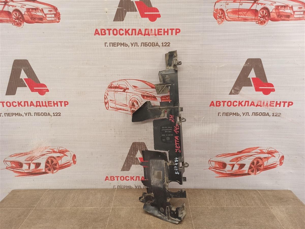 Дефлектор воздушного потока основного радиатора Volkswagen Jetta (Mk6) 2010-2019 правый