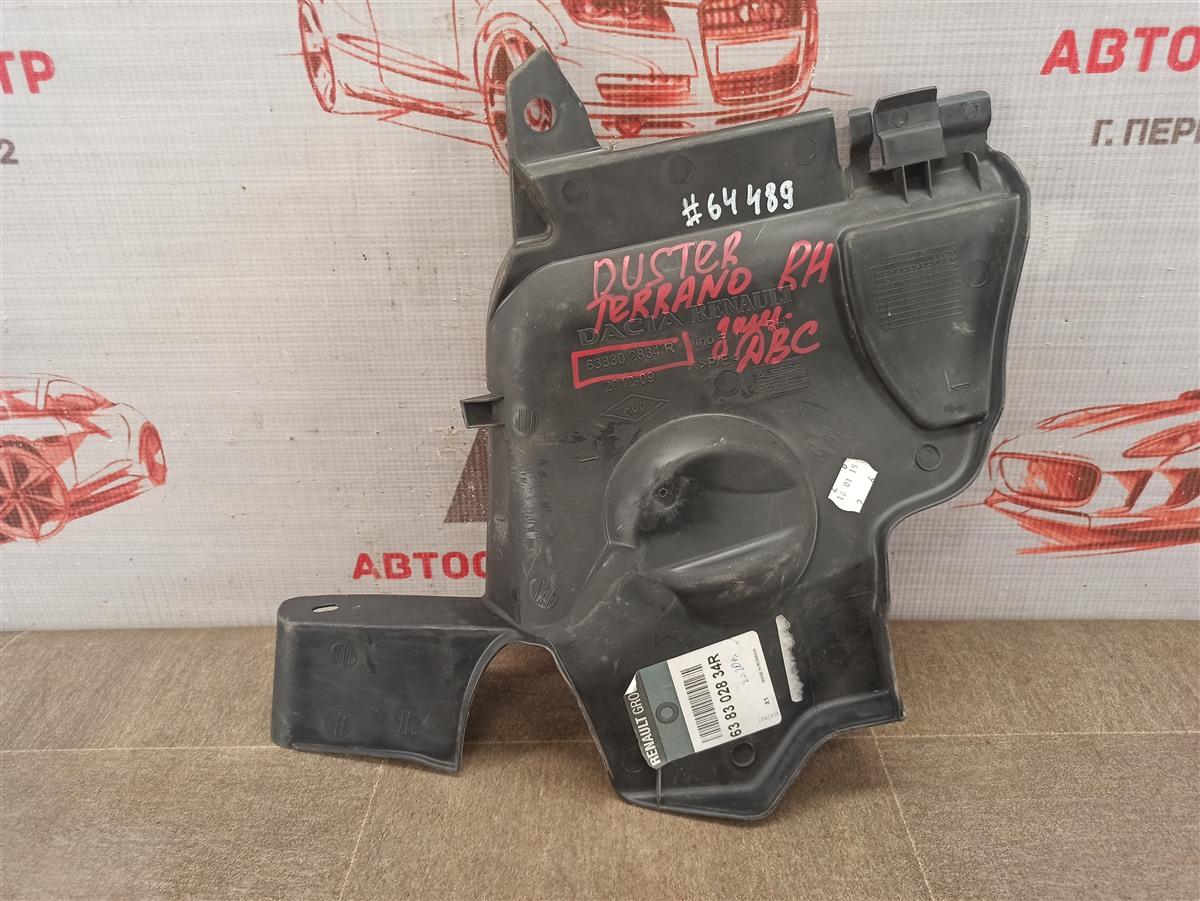 Защита моторного отсека - пыльник двс Renault Dokker (2012-Н.в.) правая