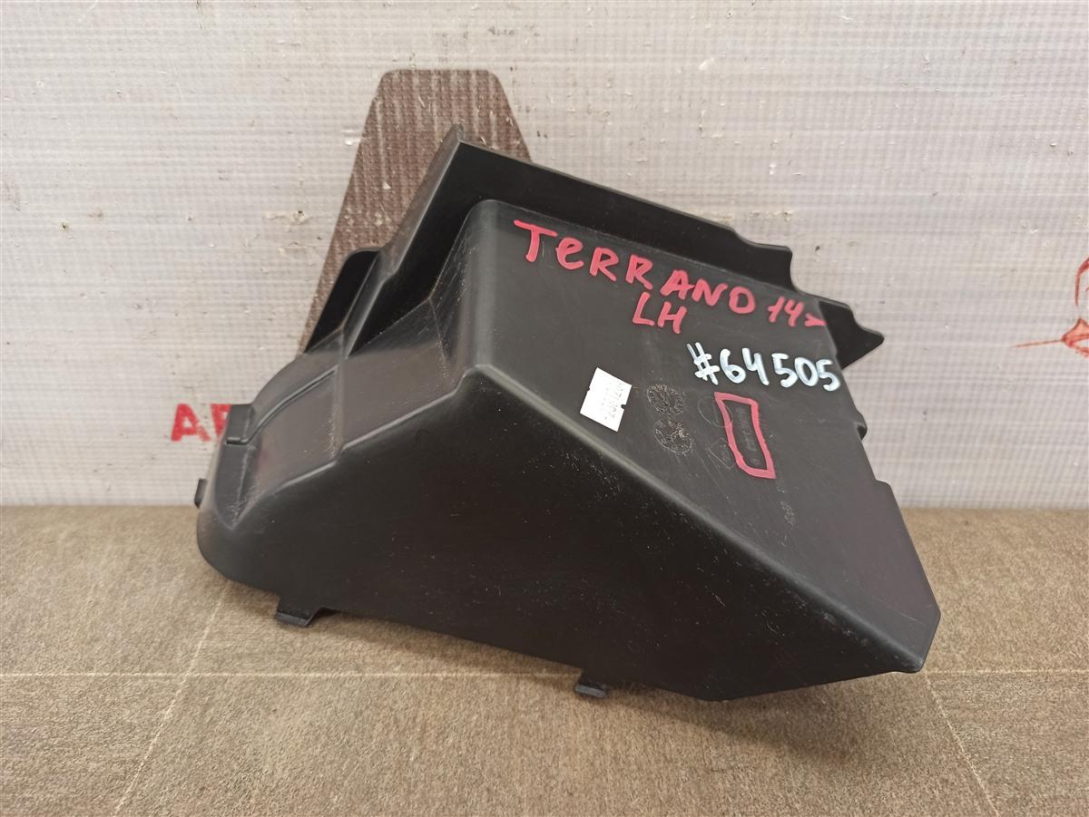 Дефлектор воздушного потока основного радиатора Nissan Terrano (2014-Н.в.) левый