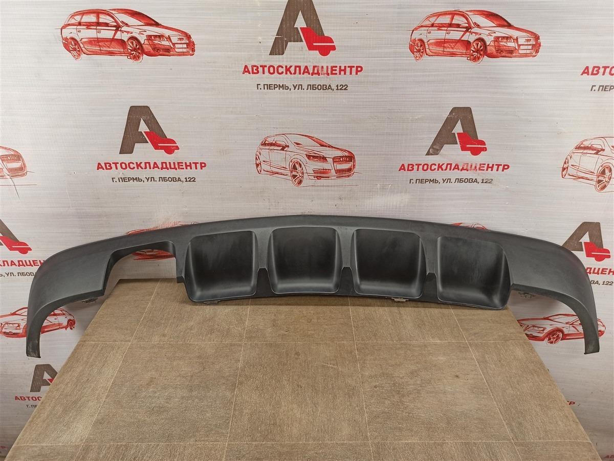 Спойлер (накладка) бампера заднего Mercedes Clc-Klasse (Cl203) 2008-2011