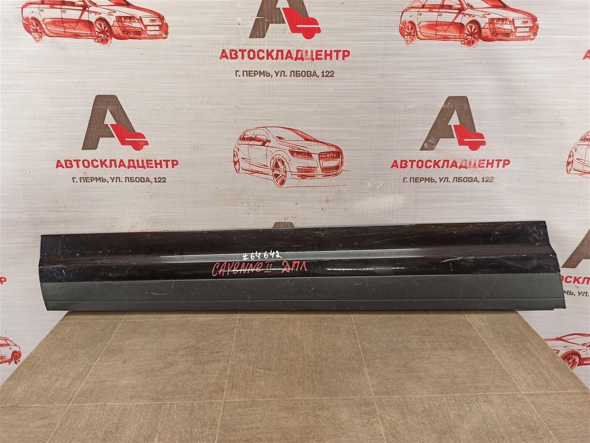 Накладка двери передней левой Porsche Cayenne (2010-2018)