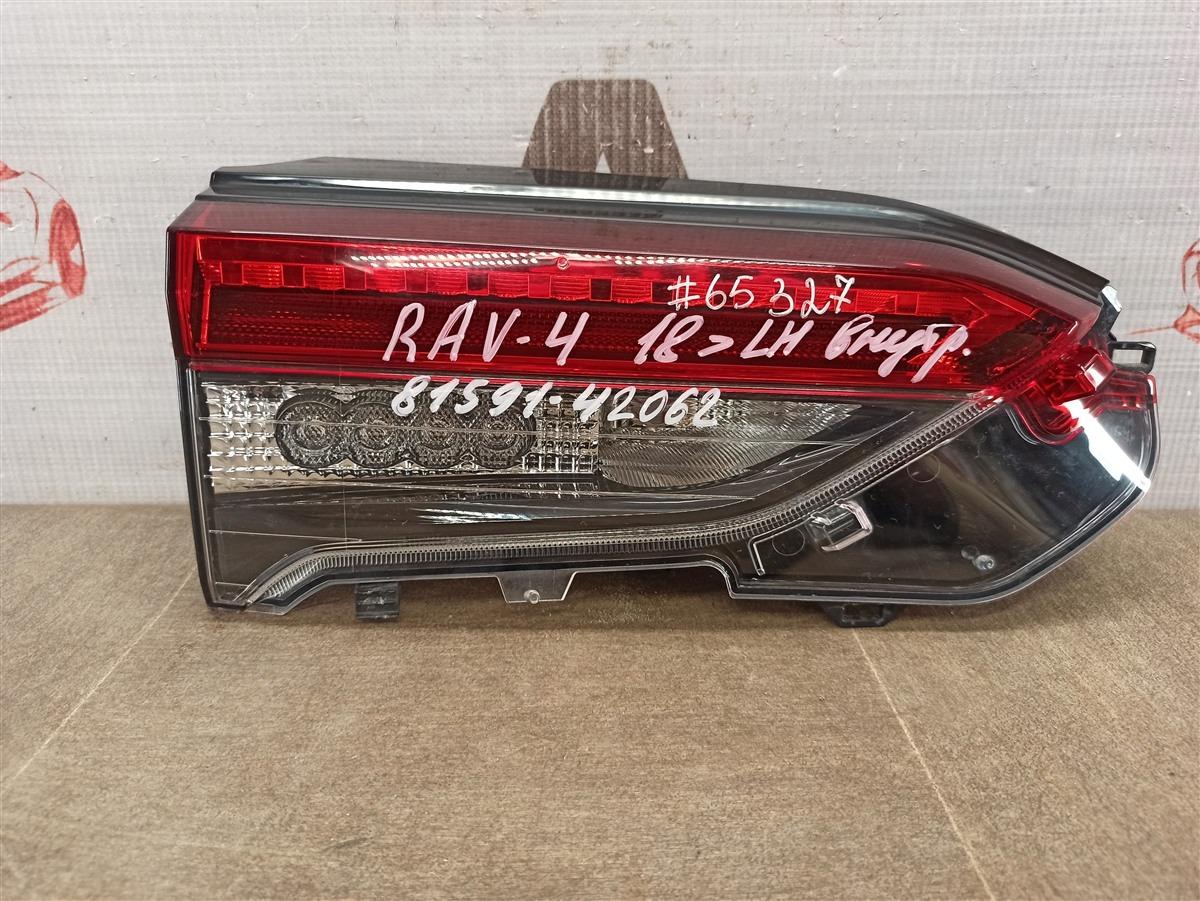 Фонарь левый - вставка в дверь / крышку багажника Toyota Rav-4 (Xa50) 2018-Н.в.