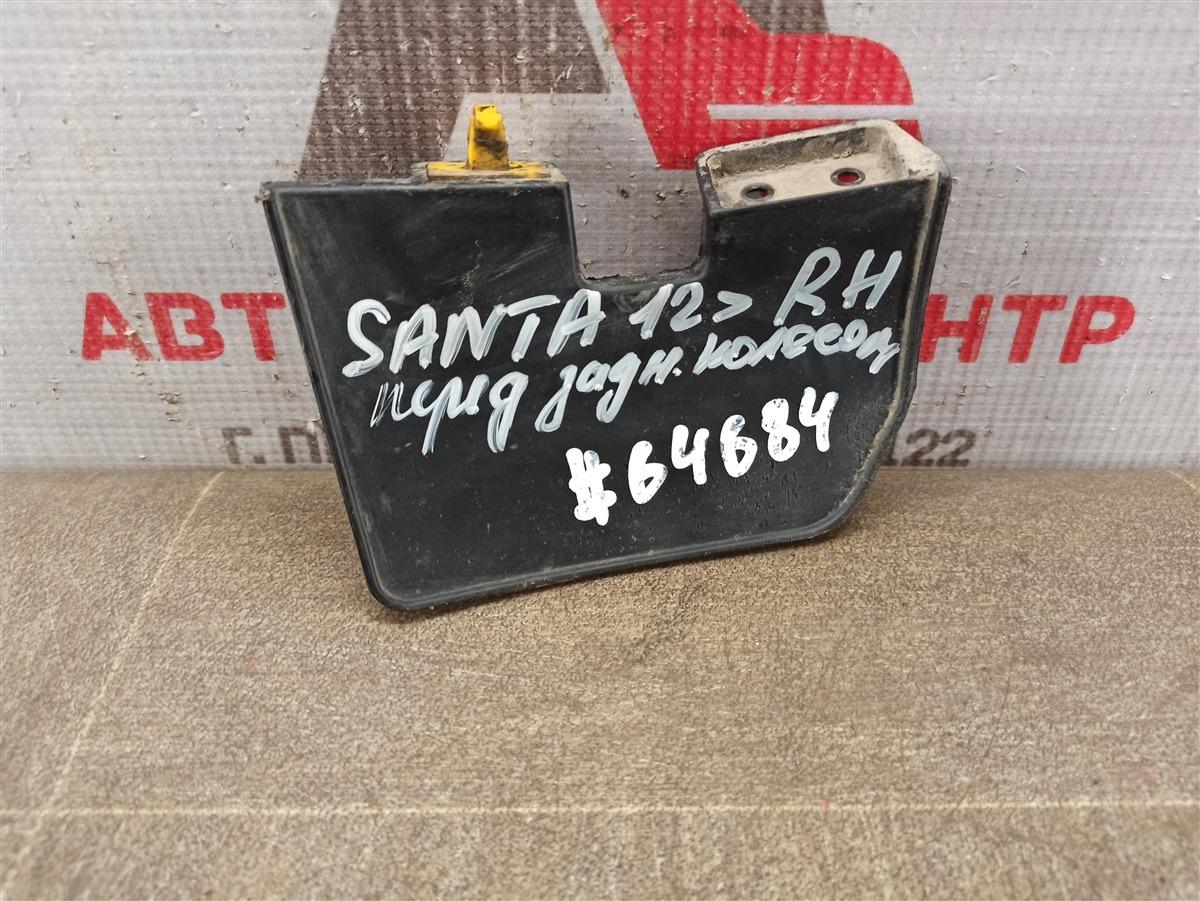 Брызговик дополнительный - на порог (воздушный щиток) Hyundai Santa-Fe (2012-2019) задний правый