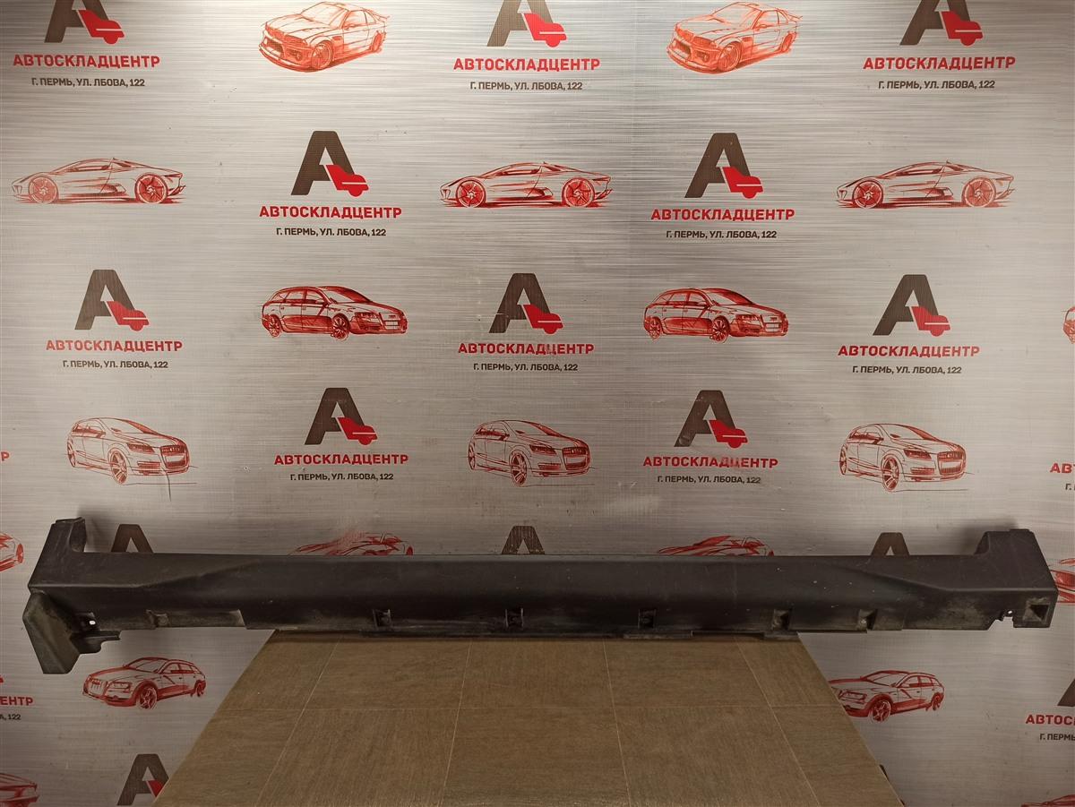 Накладка порога кузова - наружная облицовка Nissan X-Trail (2014-Н.в.) правая