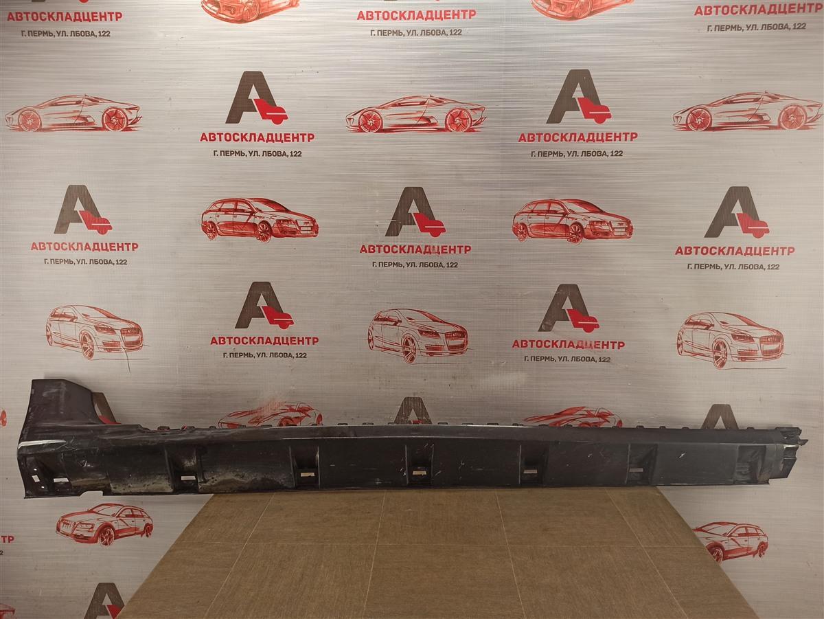 Накладка порога кузова - наружная облицовка Nissan Terrano (2014-Н.в.) правая