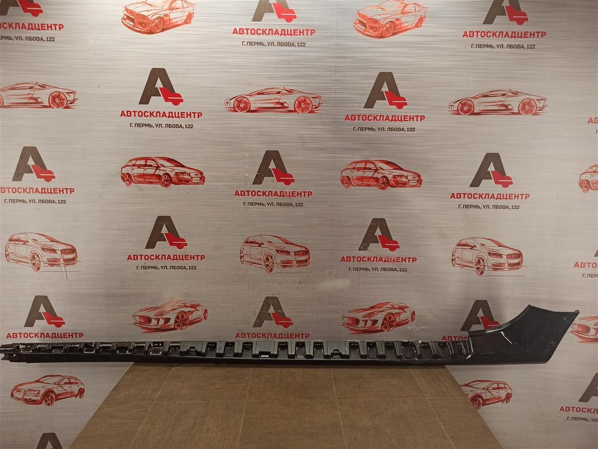 Накладка порога кузова - наружная облицовка Nissan Terrano (2014-Н.в.) левая