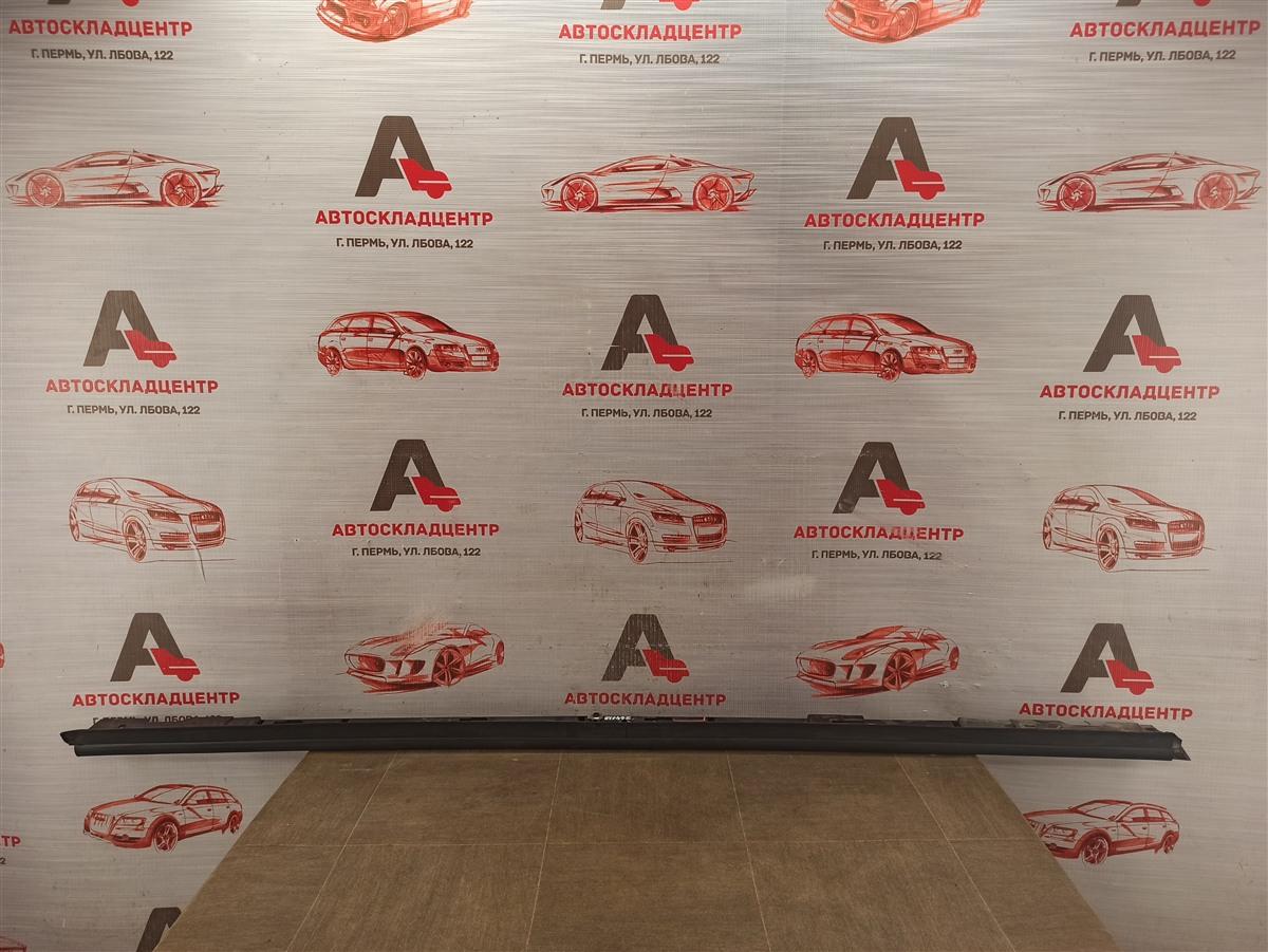 Накладка порога кузова - наружная облицовка Mazda Cx-5 (2017-Н.в.) правая