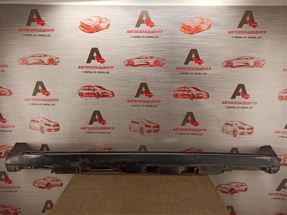 Накладка порога кузова - наружная облицовка Toyota Camry (Xv50) 2011-2017 2011 правая
