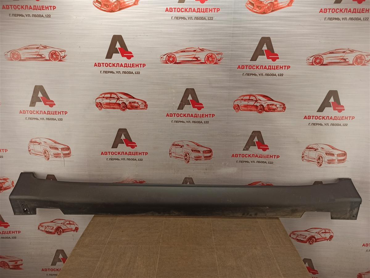 Накладка порога кузова - наружная облицовка Kia Sportage (2016-Н.в.) правая