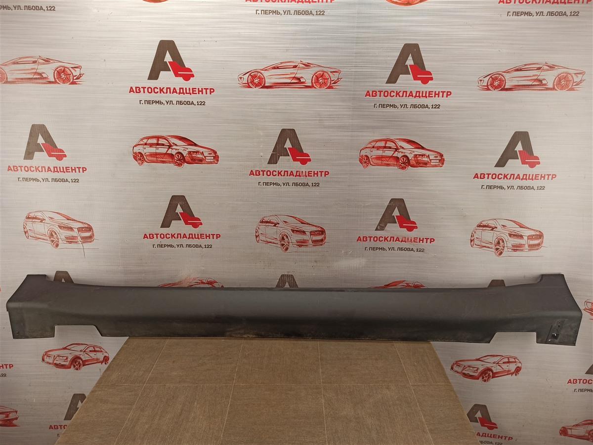 Накладка порога кузова - наружная облицовка Kia Sportage (2016-Н.в.) левая