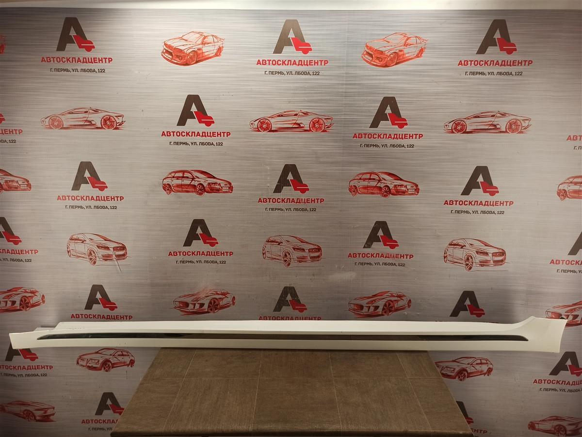 Накладка порога кузова - наружная облицовка Kia Optima (2015-2020) левая