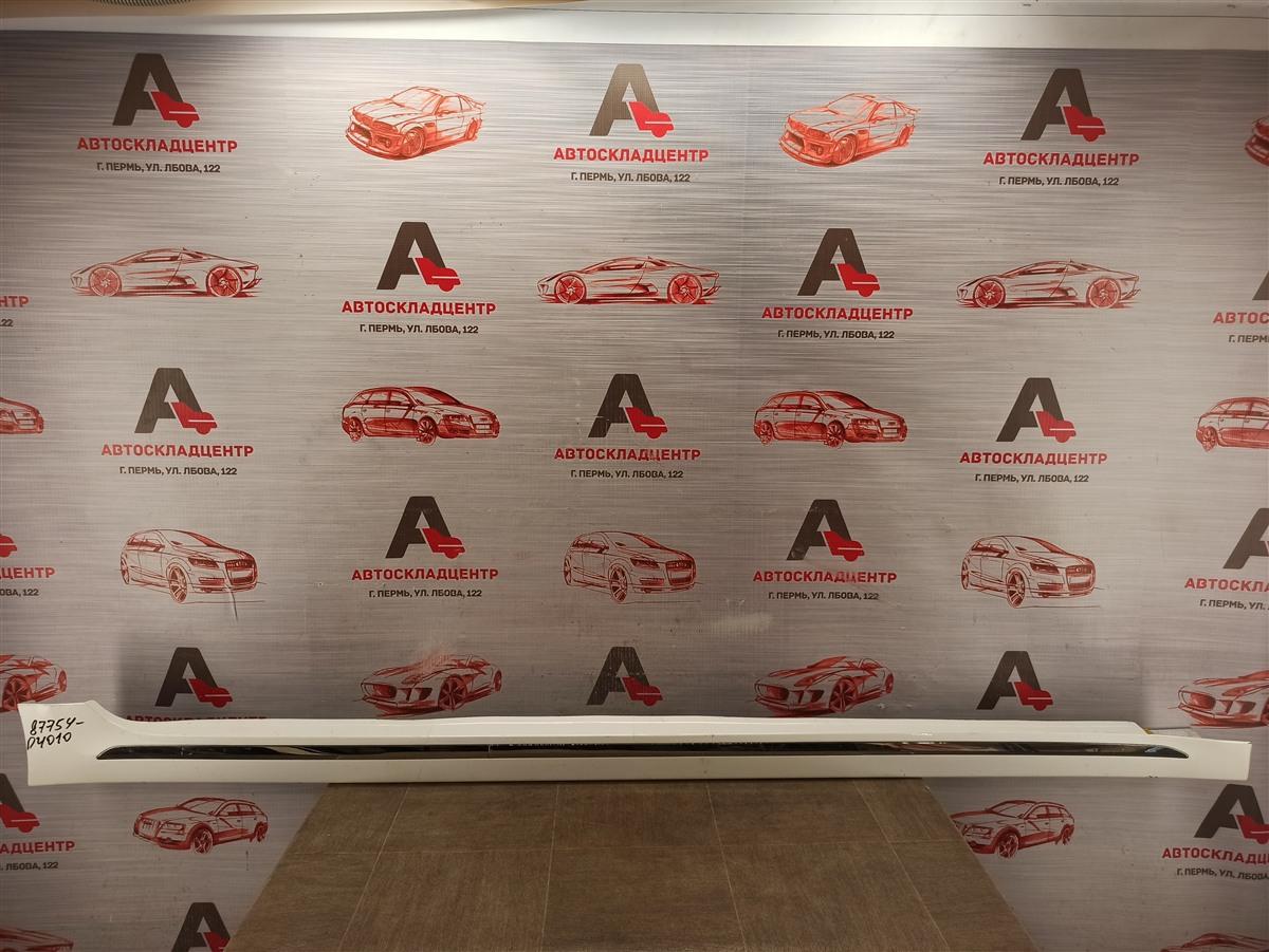 Накладка порога кузова - наружная облицовка Kia Optima (2015-2020) правая