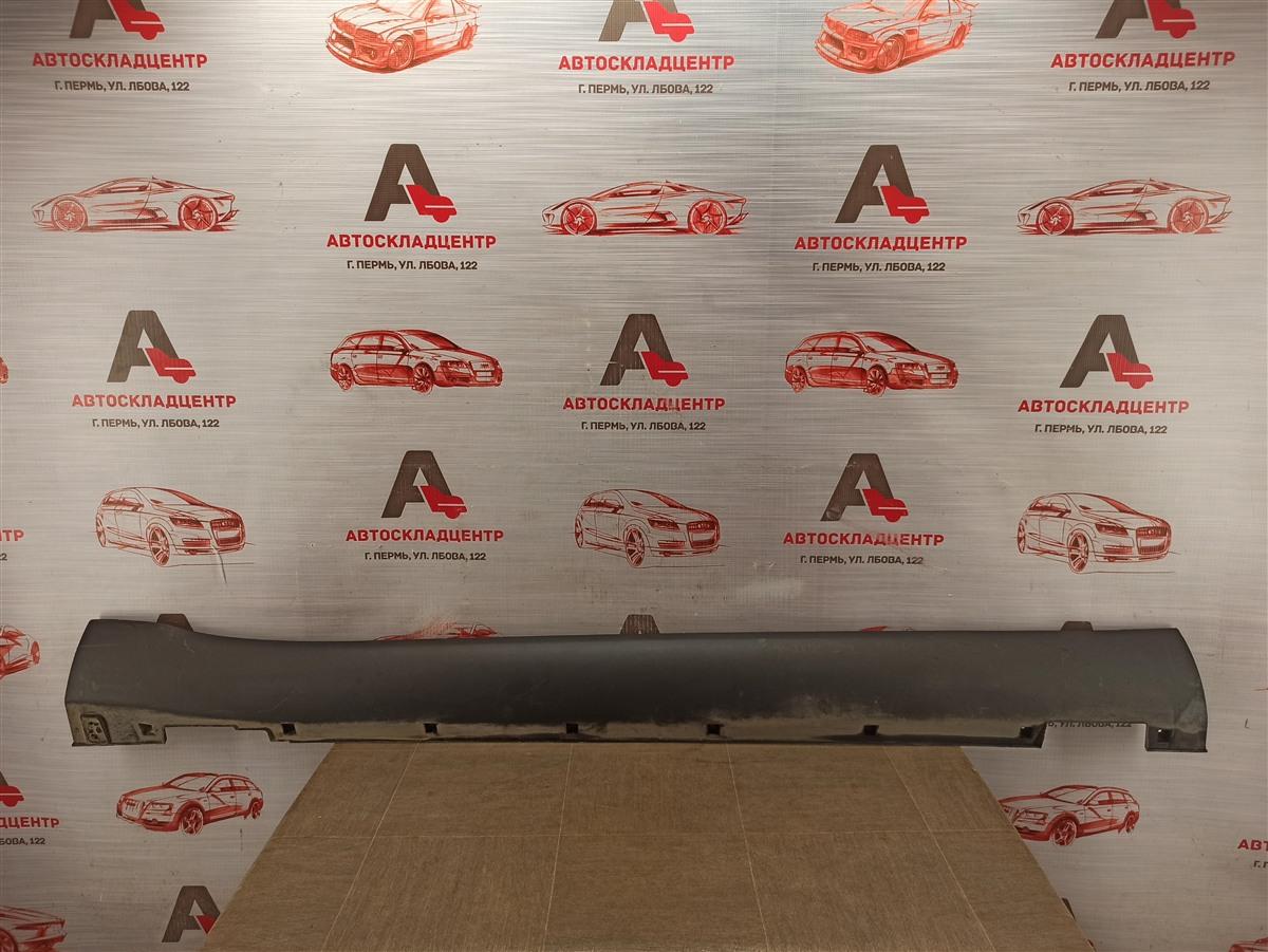 Накладка порога кузова - наружная облицовка Kia Soul (2014-2019) правая