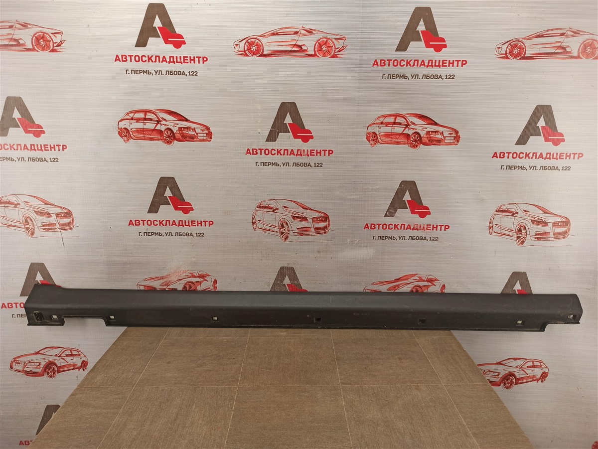 Накладка порога кузова - наружная облицовка Hyundai Santa-Fe (2012-2019) правая