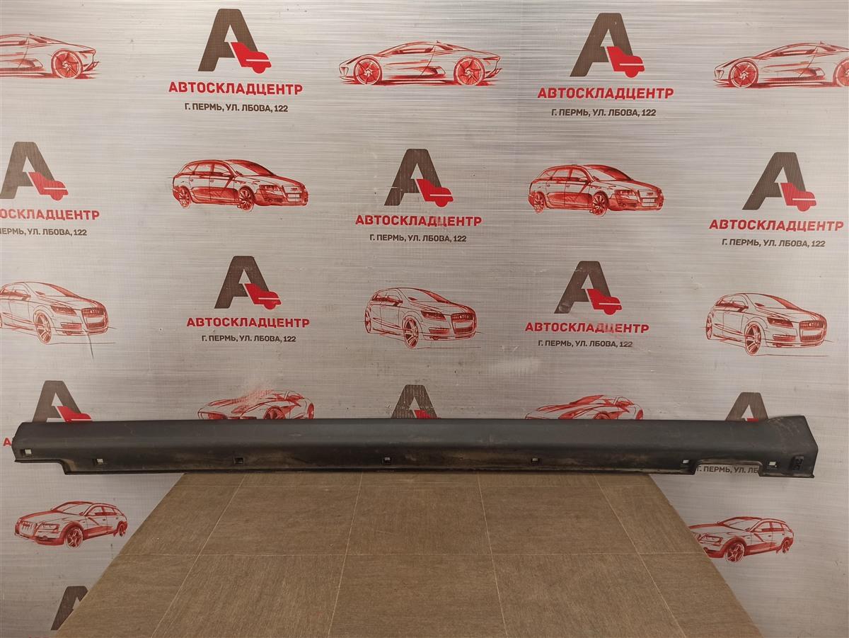 Накладка порога кузова - наружная облицовка Hyundai Santa-Fe (2012-2019) левая