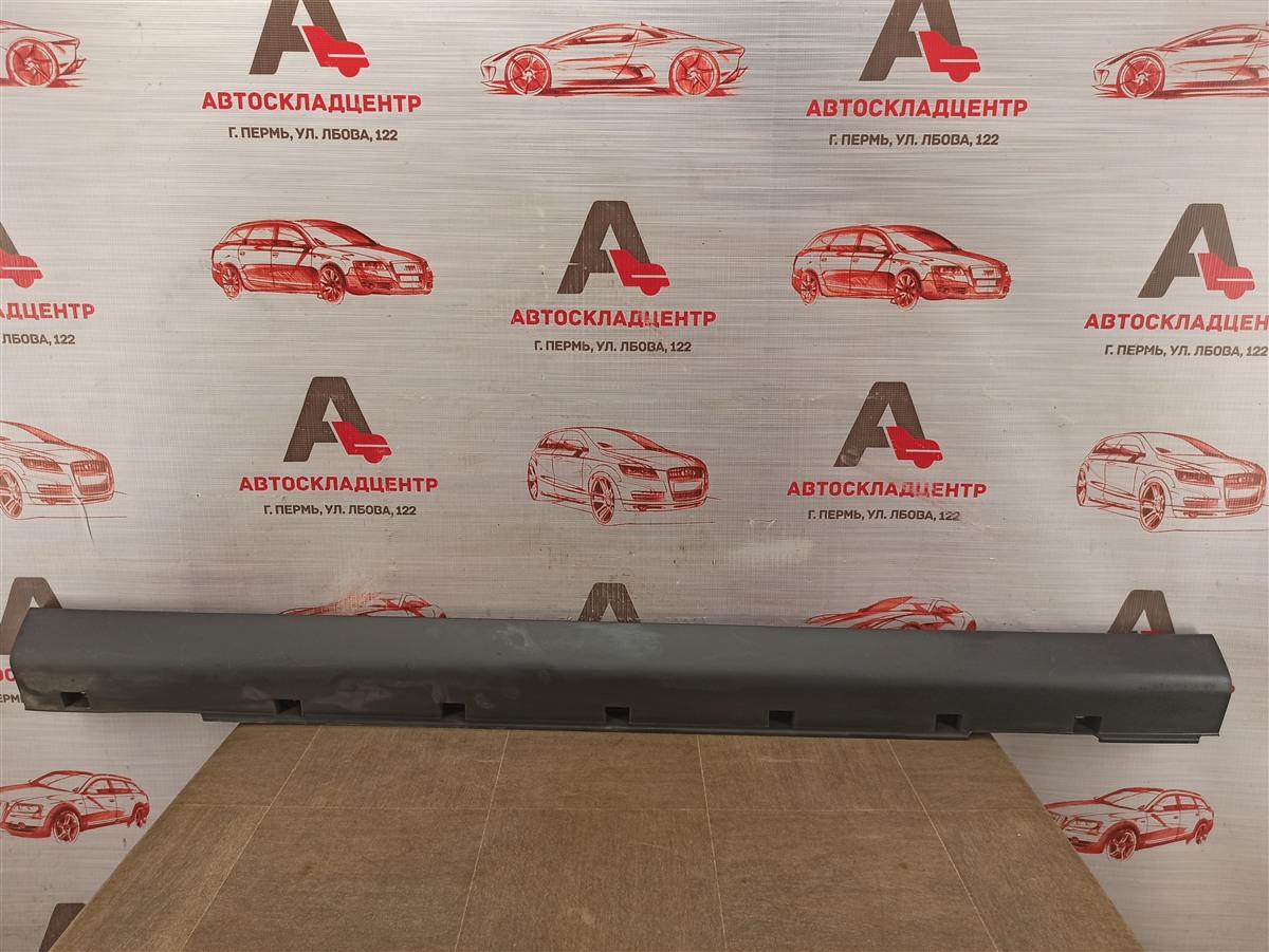 Накладка порога кузова - наружная облицовка Lada Largus левая