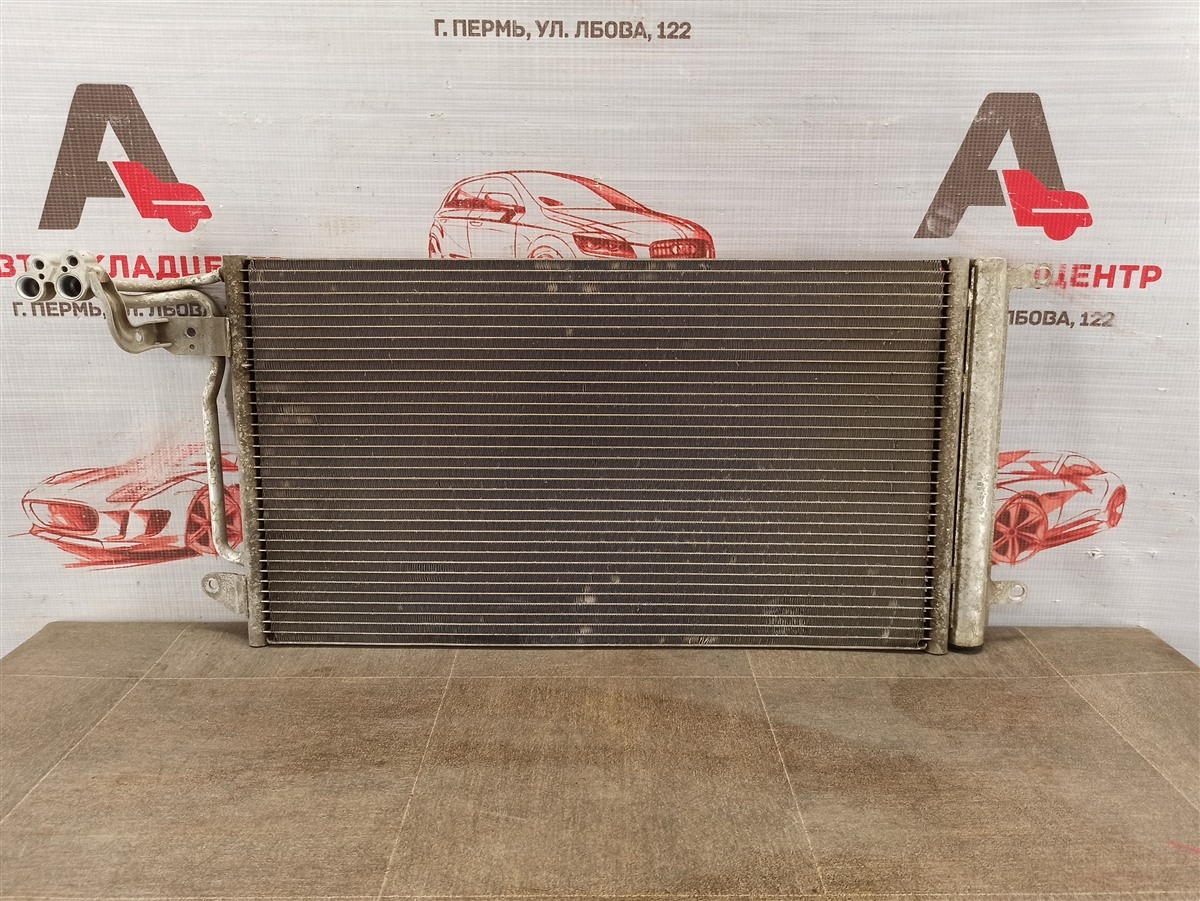 Конденсер (радиатор кондиционера) Seat Ibiza (2008-2017)