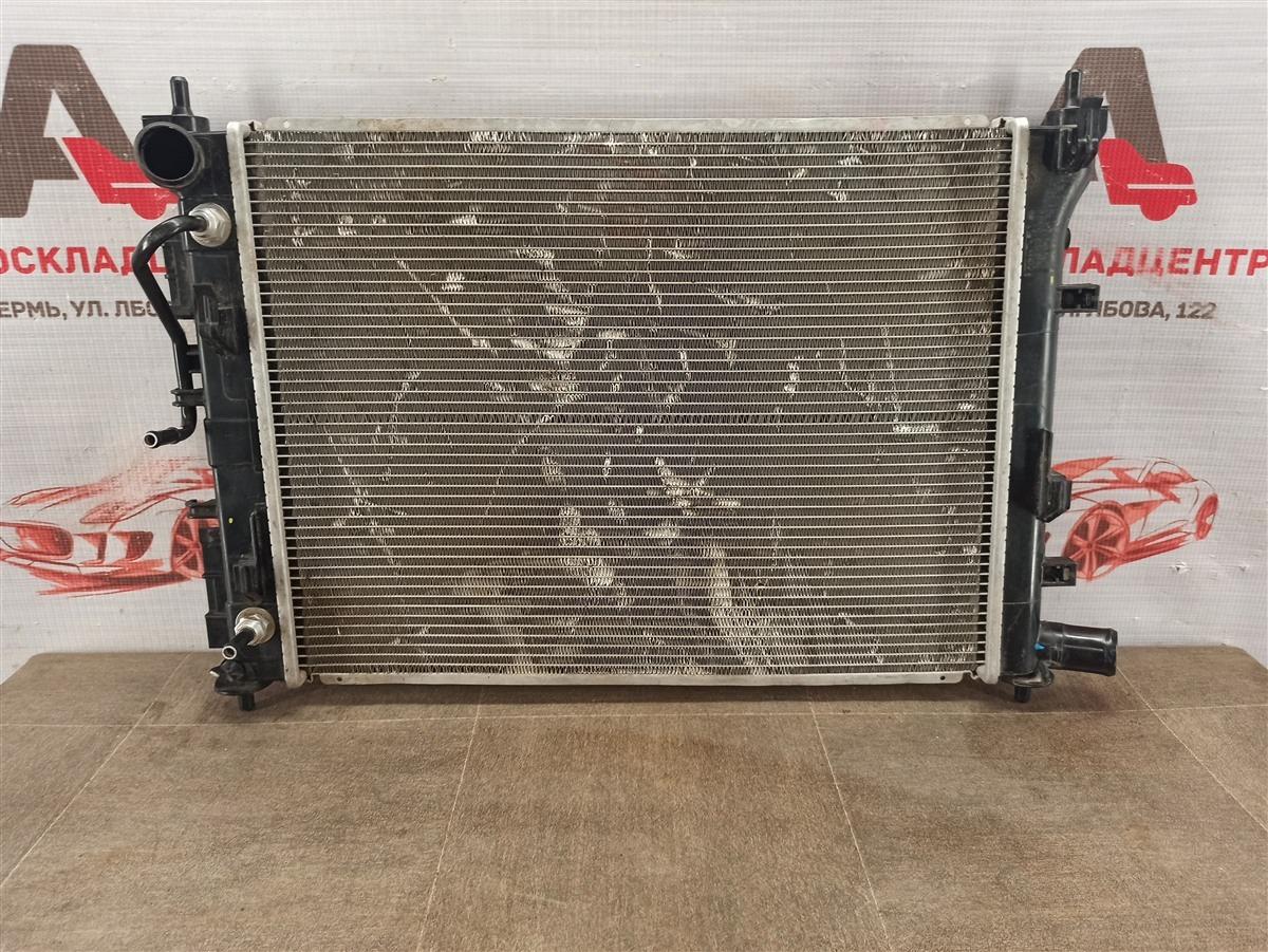 Радиатор охлаждения двигателя Hyundai Solaris (2017-Н.в.)