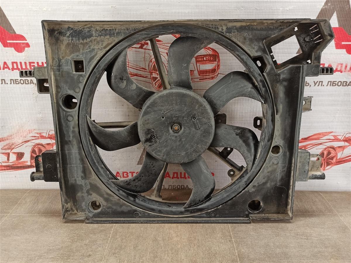 Диффузор радиатора охлаждения - в сборе Renault Logan (2014-Н.в.)
