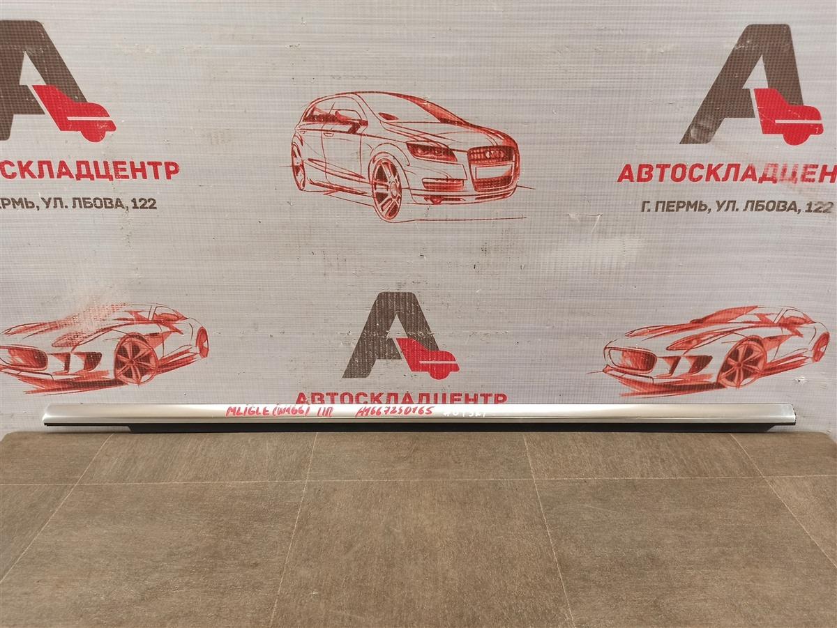 Молдинг-уплотнитель стекла двери (бархотка) Mercedes Gl-Klasse (X166) 2012-2015