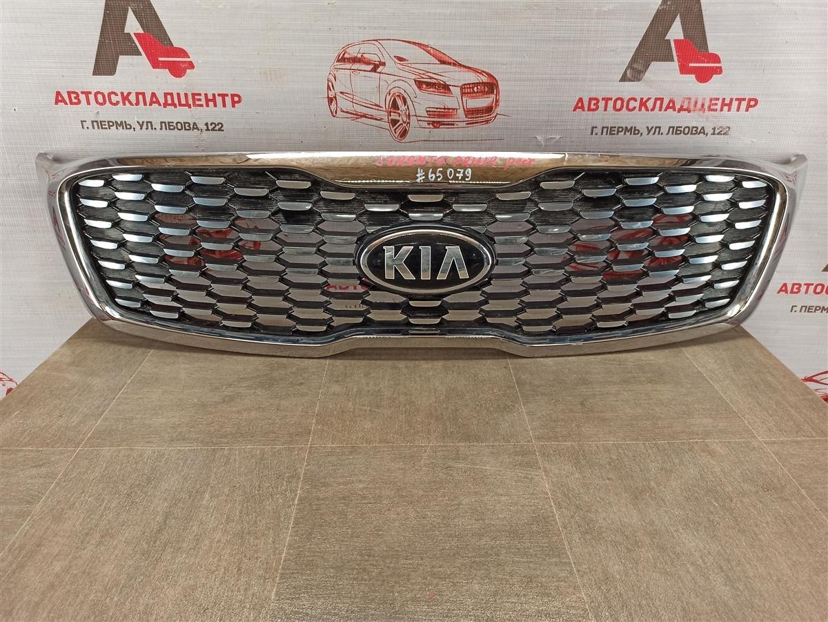 Решетка радиатора Kia Sorento Prime (2014-Н.в.) 2017