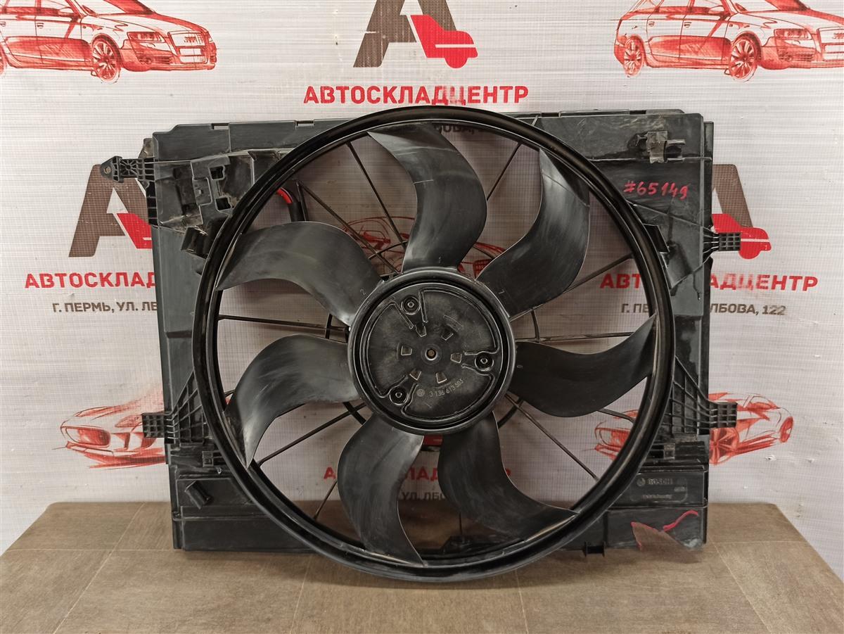 Диффузор радиатора охлаждения - в сборе Mercedes C-Klasse (W205) 2013-Н.в.