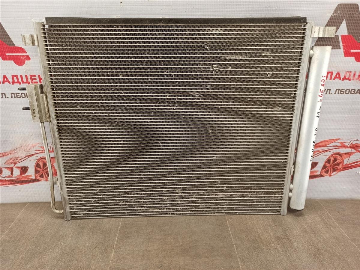 Конденсер (радиатор кондиционера) Hyundai Grand Santa-Fe (2013-2018)