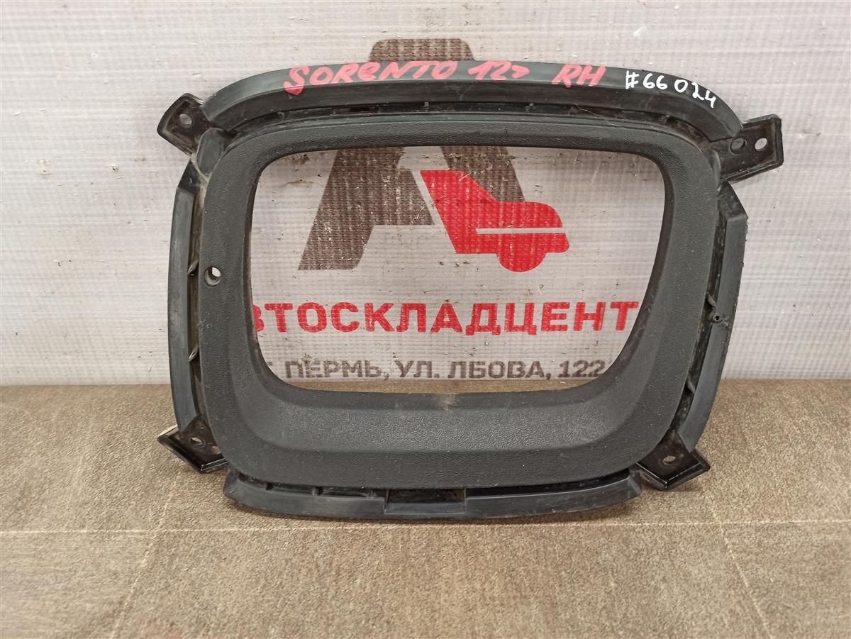 Накладка противотуманной фары / ходового огня Kia Sorento (2009-Н.в.) 2012 левая