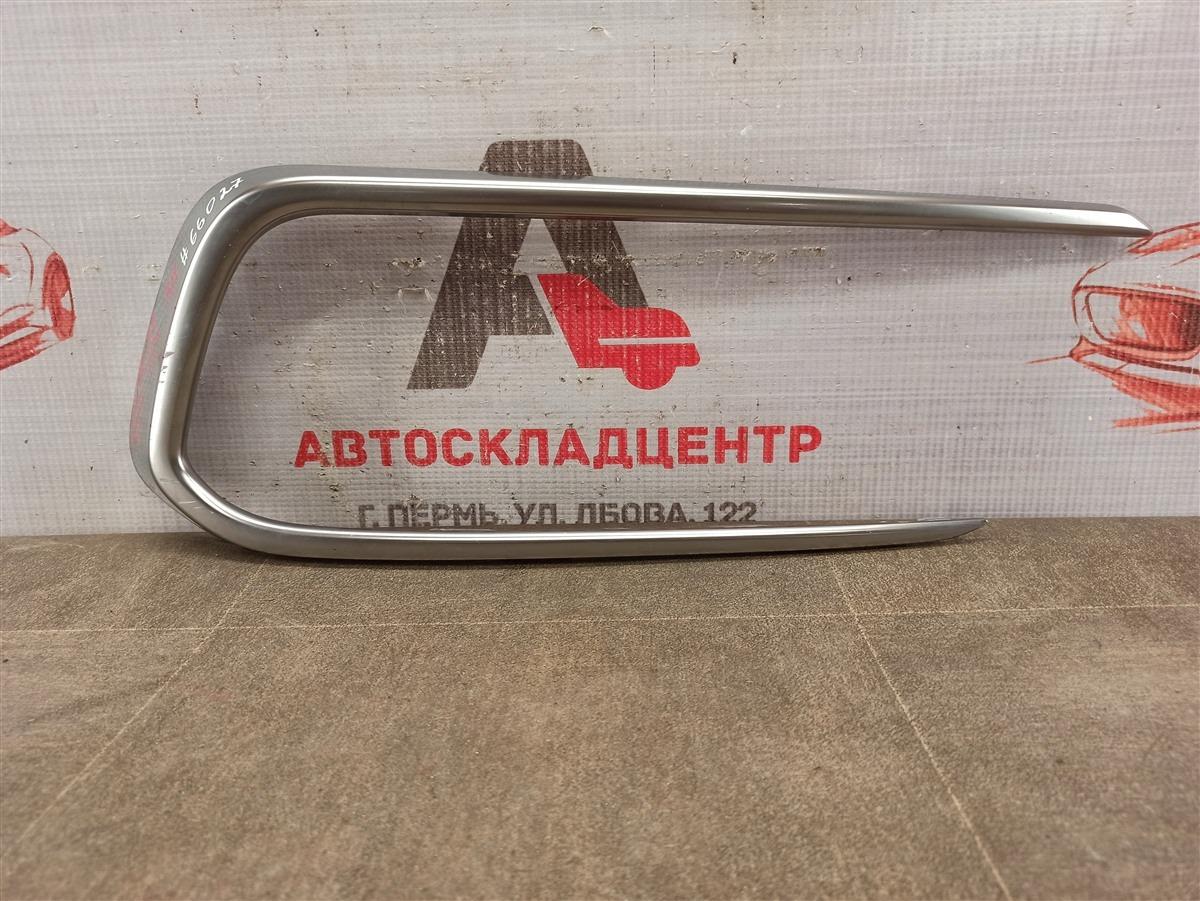Накладка противотуманной фары - молдинг Hyundai Santa-Fe (2012-2019) 2015