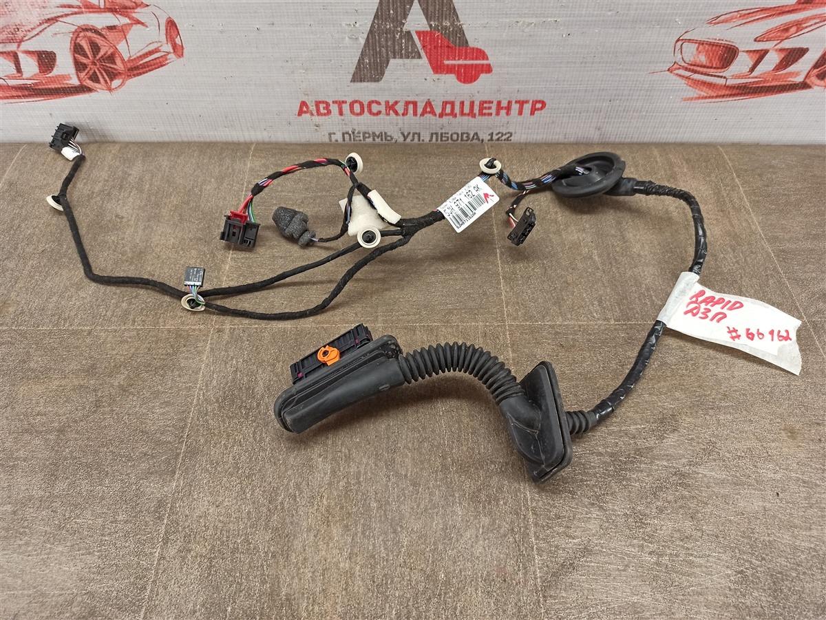 Электрика - проводка двери Skoda Rapid (2012-2020) задняя правая