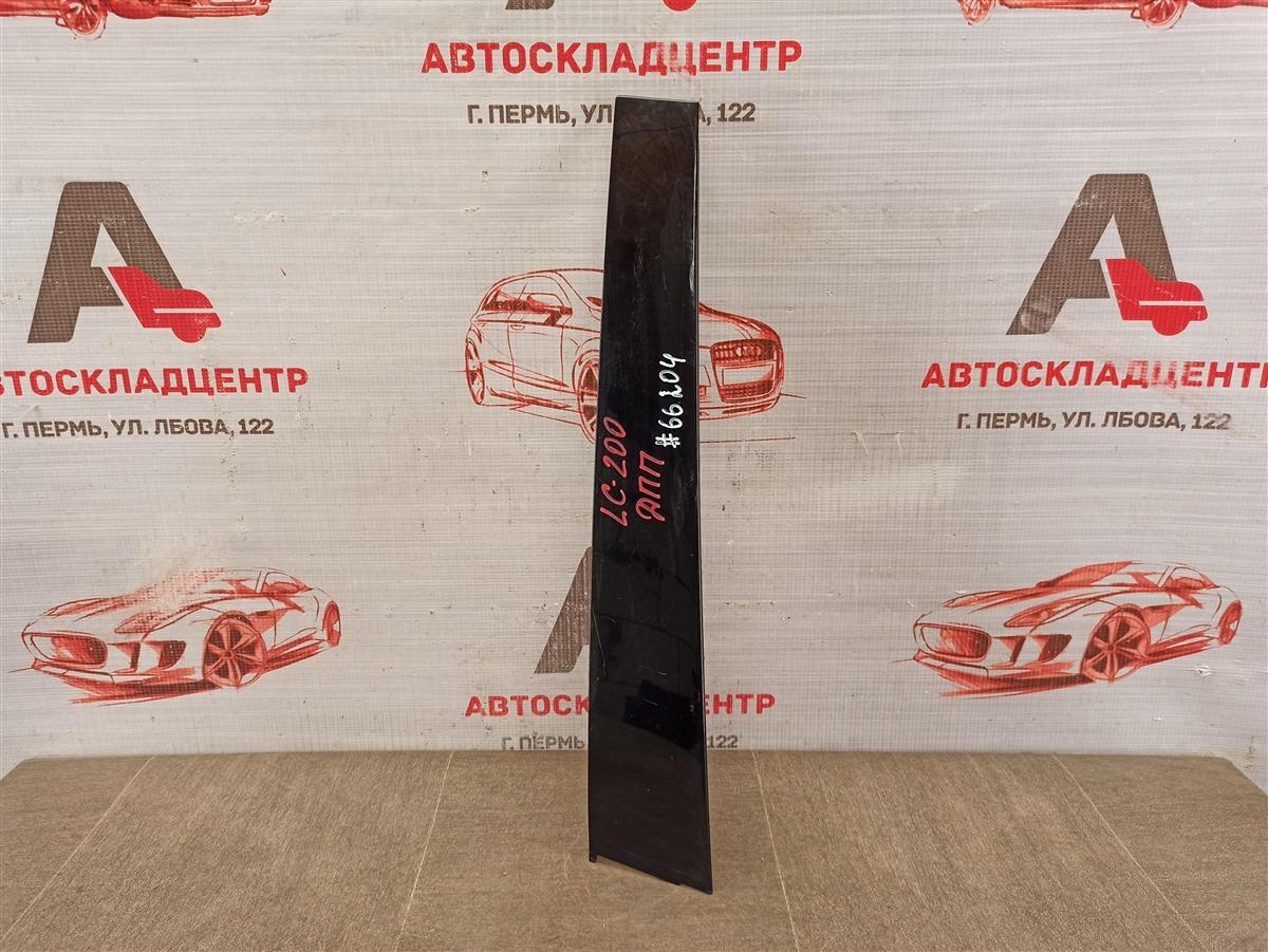 Накладка рамки двери Toyota Land Cruiser 200 (2007-Н.в.) передняя правая