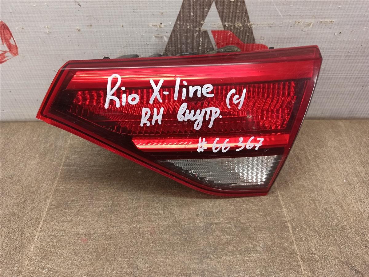Фонарь правый - вставка в дверь / крышку багажника Kia Rio X-Line (2017-Н.в.)