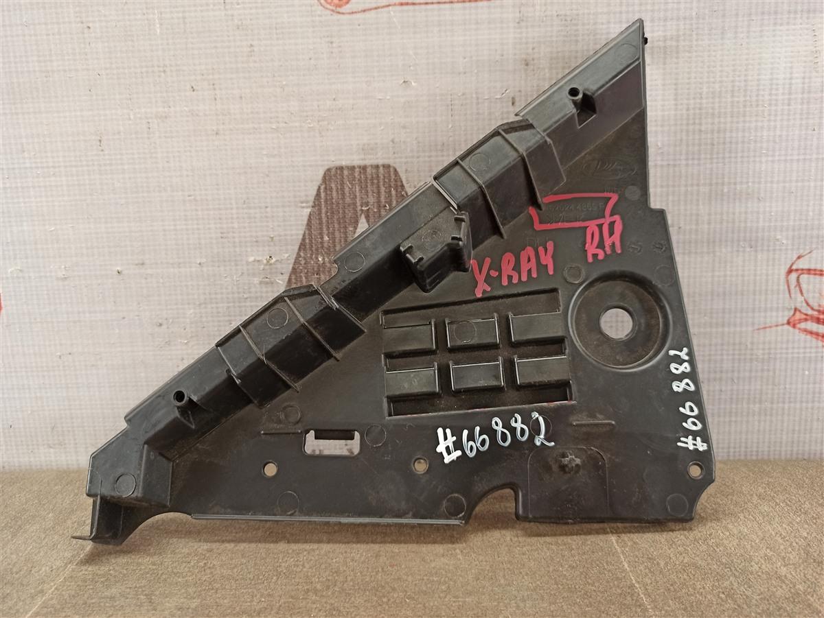 Пыльник бампера переднего нижний Lada X-Ray правый