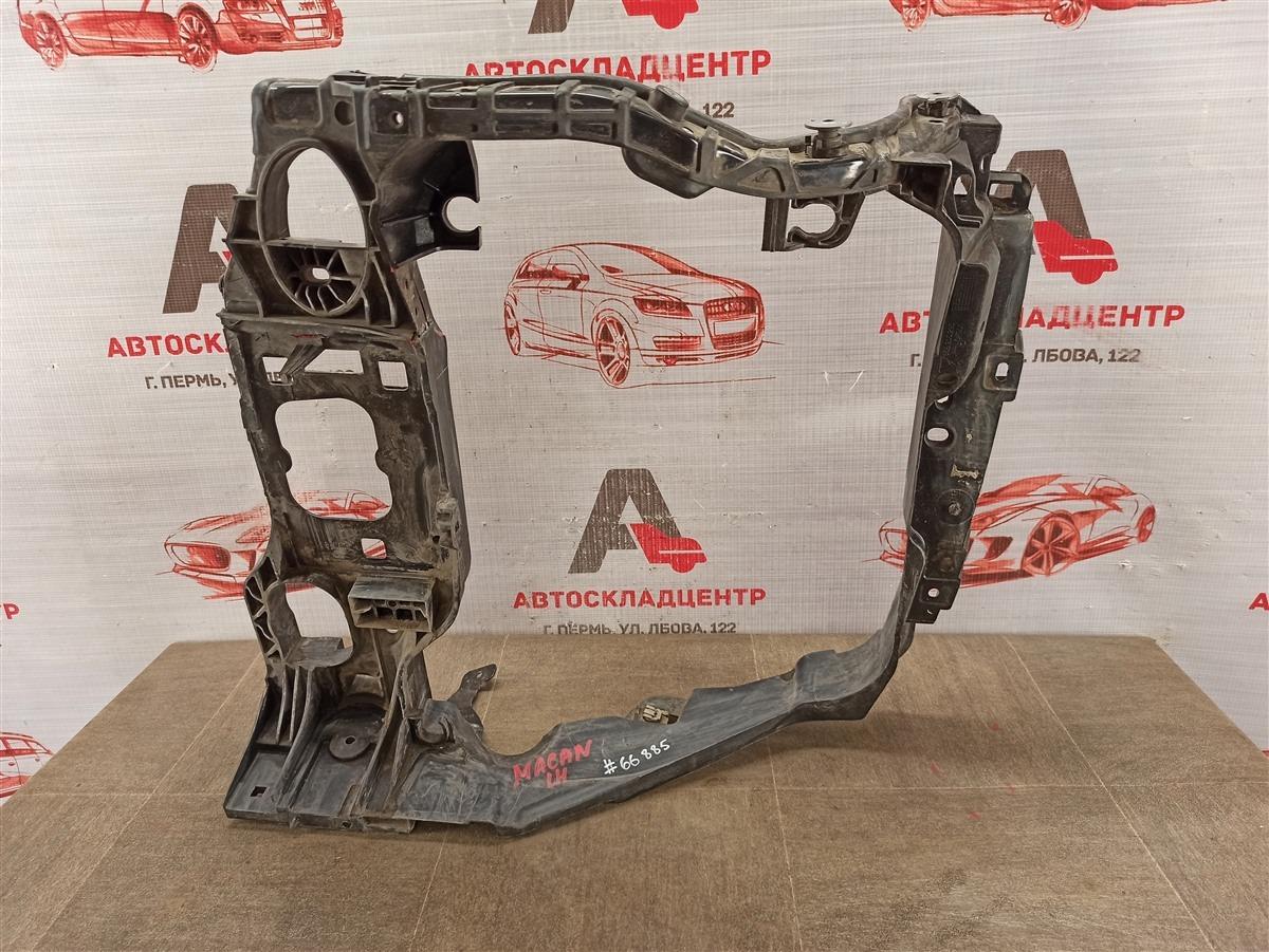 Панель передка (телевизор) - рамка радиатора Porsche Macan (2013-Н.в.) левый