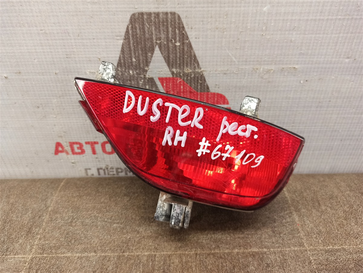 Фонарь противотуманный Renault Duster (2010-Н.в.) 2015 правый