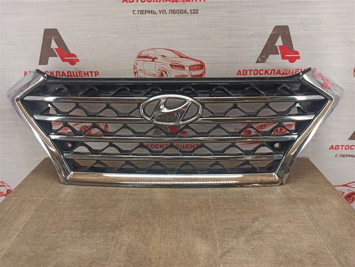 Решетка радиатора Hyundai Tucson (2015-Н.в.) 2018