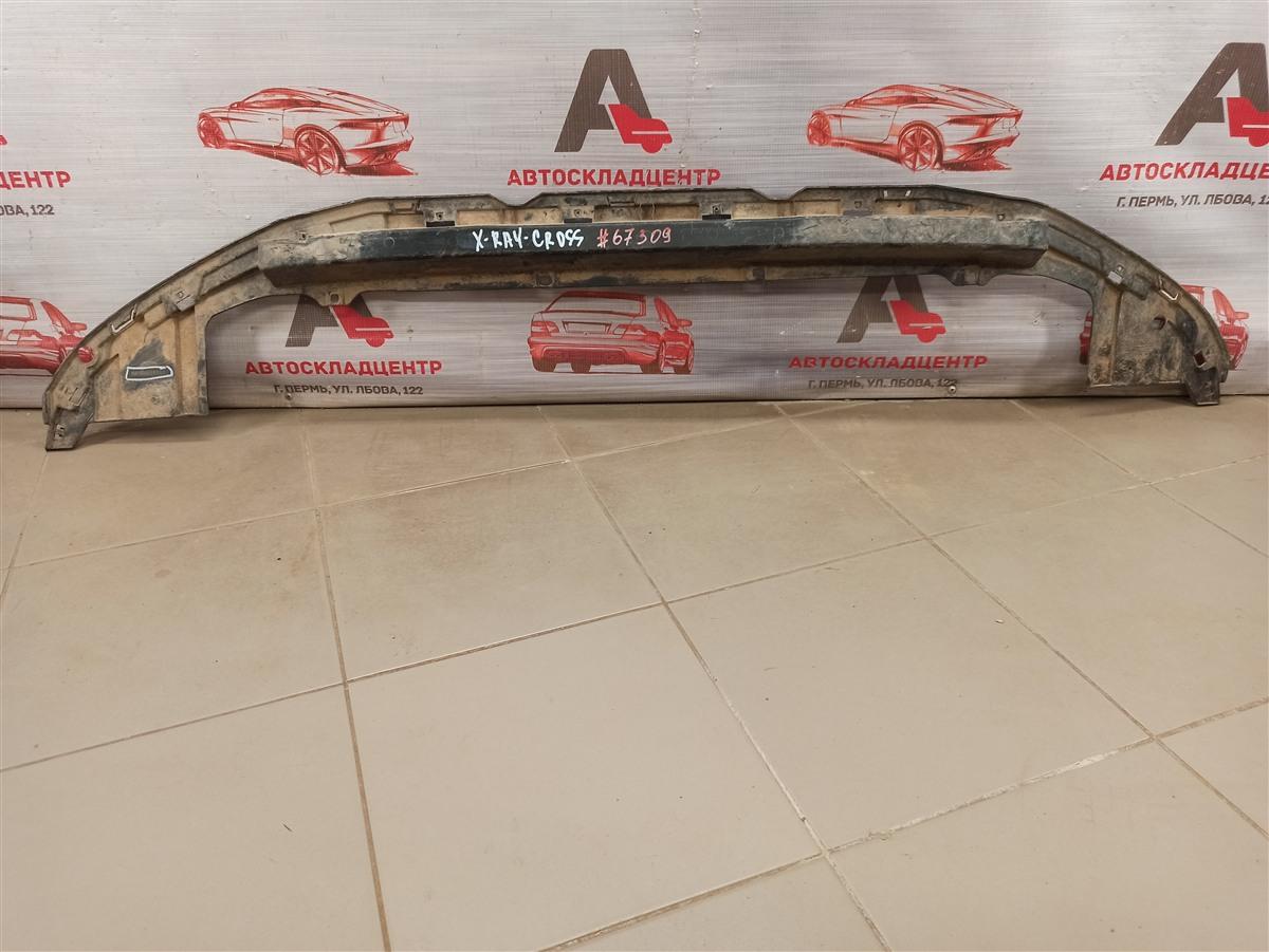 Пыльник бампера переднего нижний Lada X-Ray