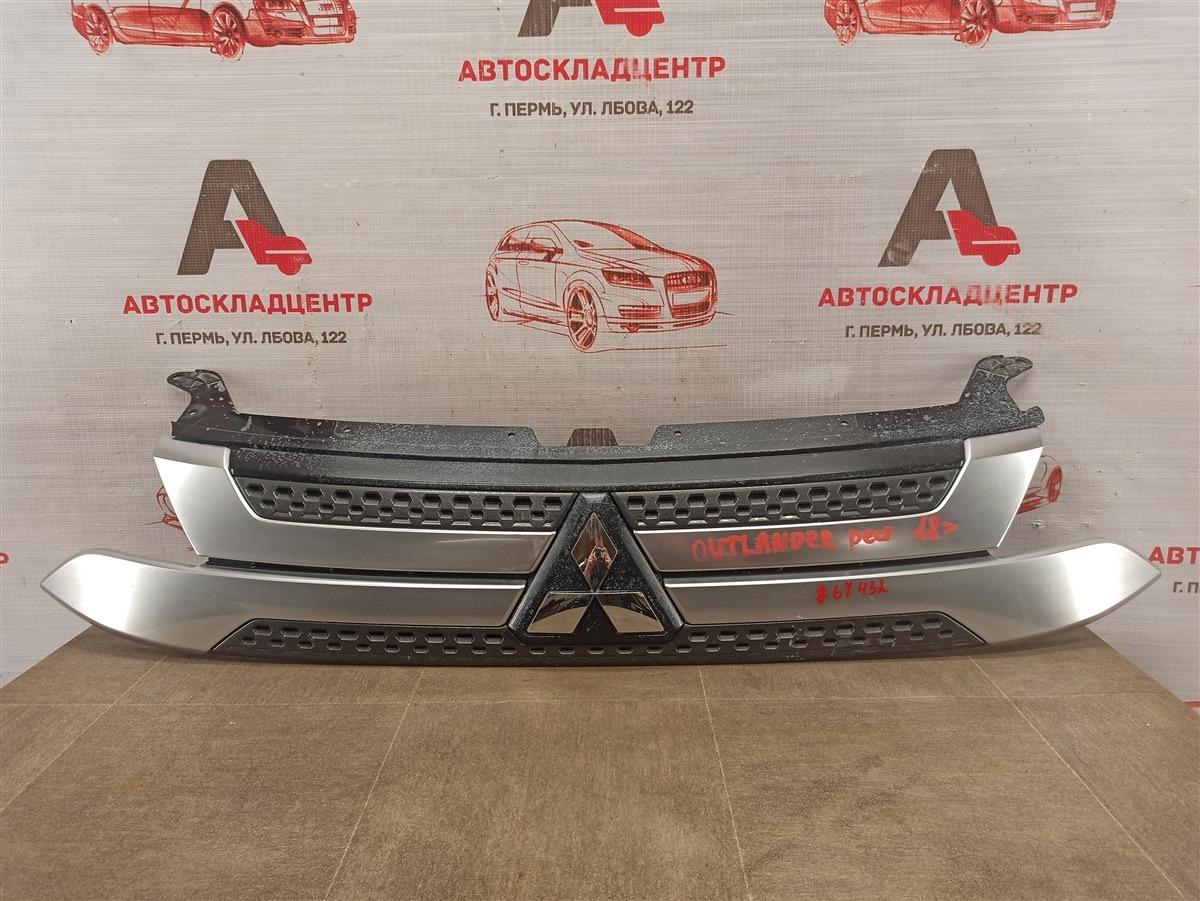 Решетка радиатора Mitsubishi Outlander (2012-Н.в.) 2018