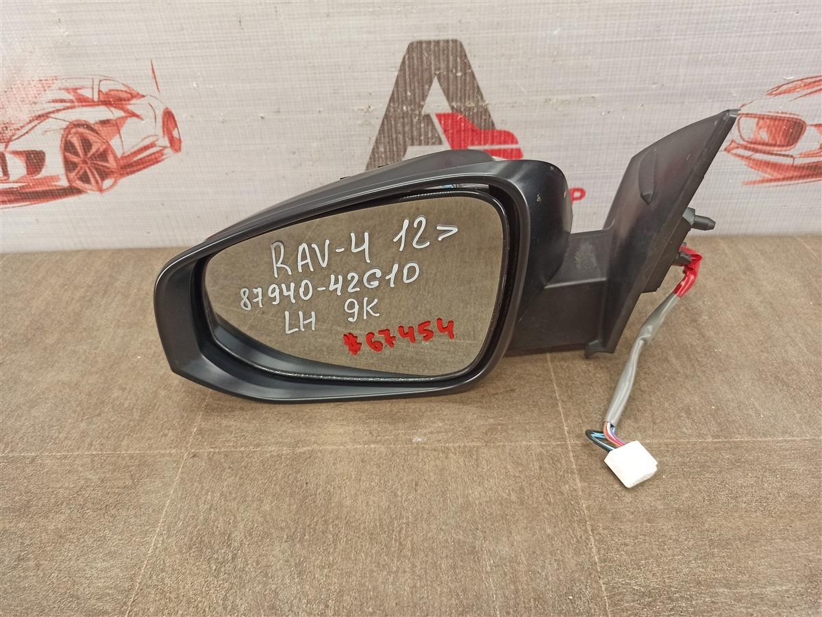 Зеркало левое Toyota Rav-4 (Xa40) 2012-2019