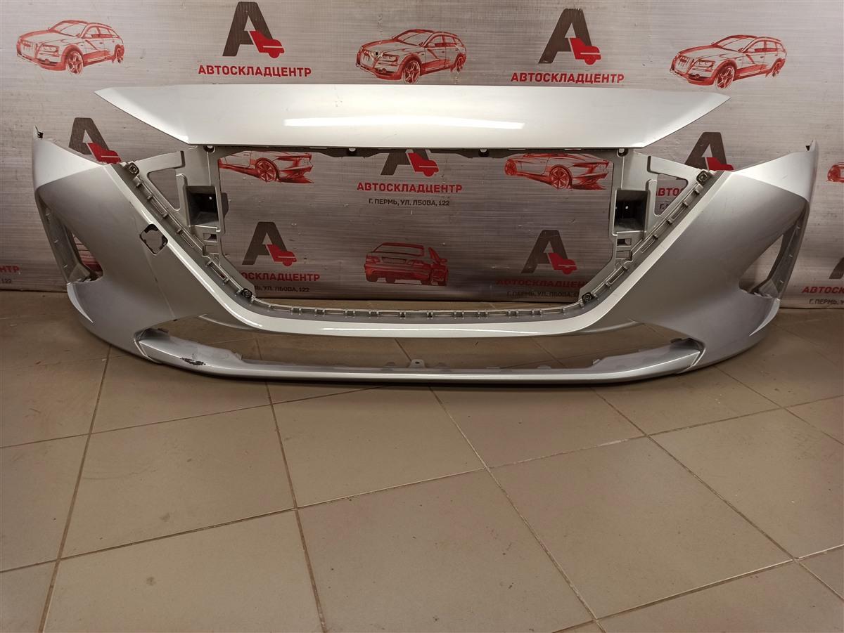 Бампер передний Hyundai Solaris (2017-Н.в.) 2020
